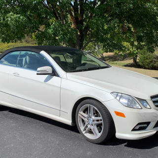2011 Mercedez-Benz E550 Convertible