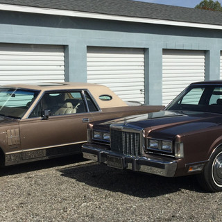 1987 Lincoln Town Car 1981 Lincoln Continental Mark VI Coupe