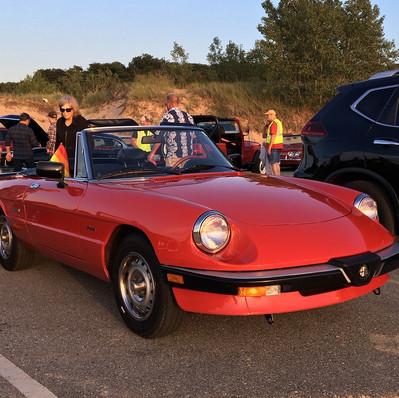 1987 Alpha Romeo Spider Graduate