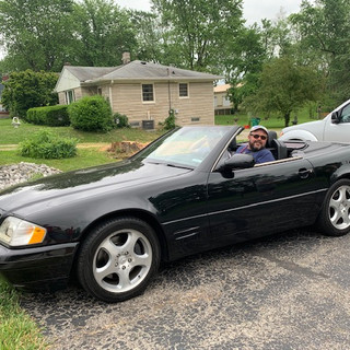 2000 Mercedes Benz 500SL