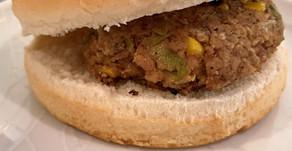 Vegetarian Mexican Burger