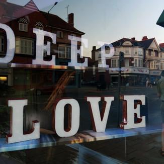Deep Love Shopfront Sign