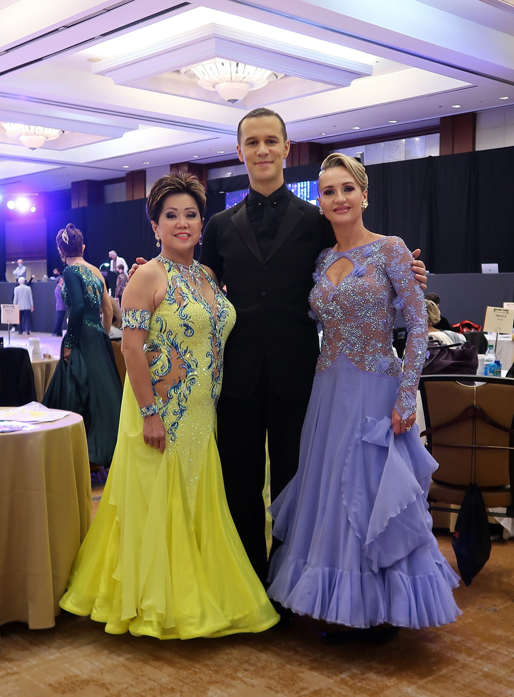 Iaroslav Bieliei with his Pro/Am students