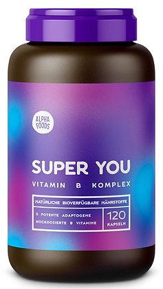 Super You - Vitamin B Komplex mit ayurvedischen Adaptogenen