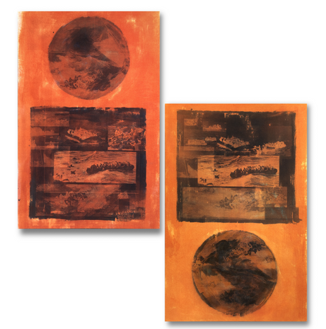 SOS paintings diptych 60x36 each small.p