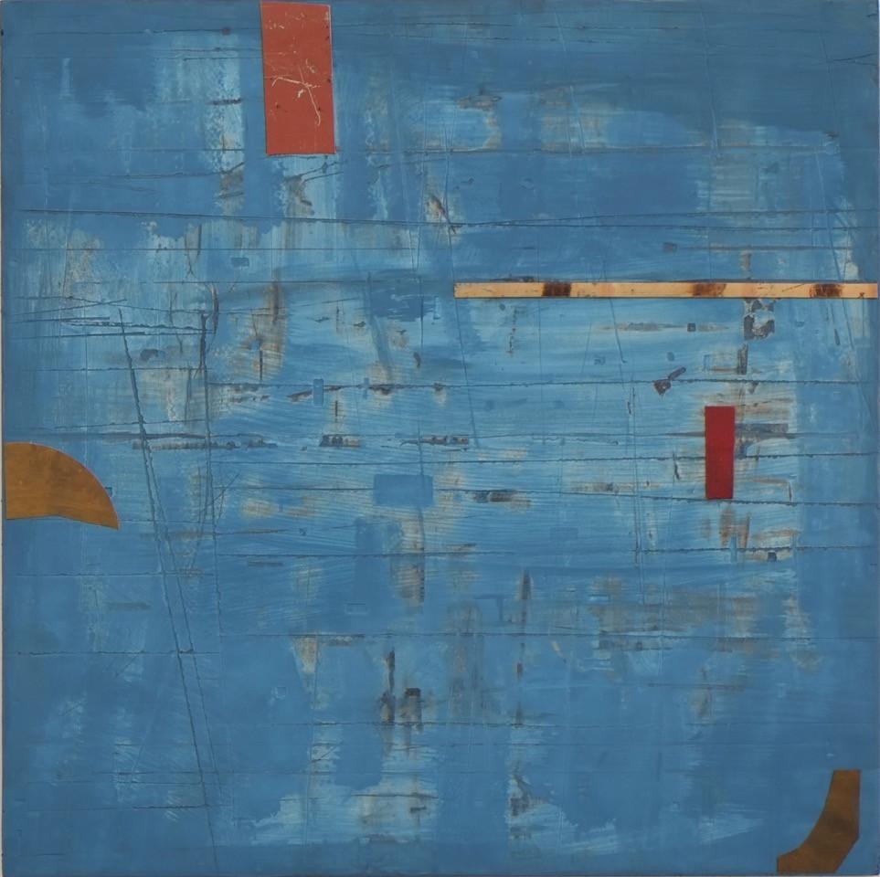 Marc lambrechts artist blue haze II 2015
