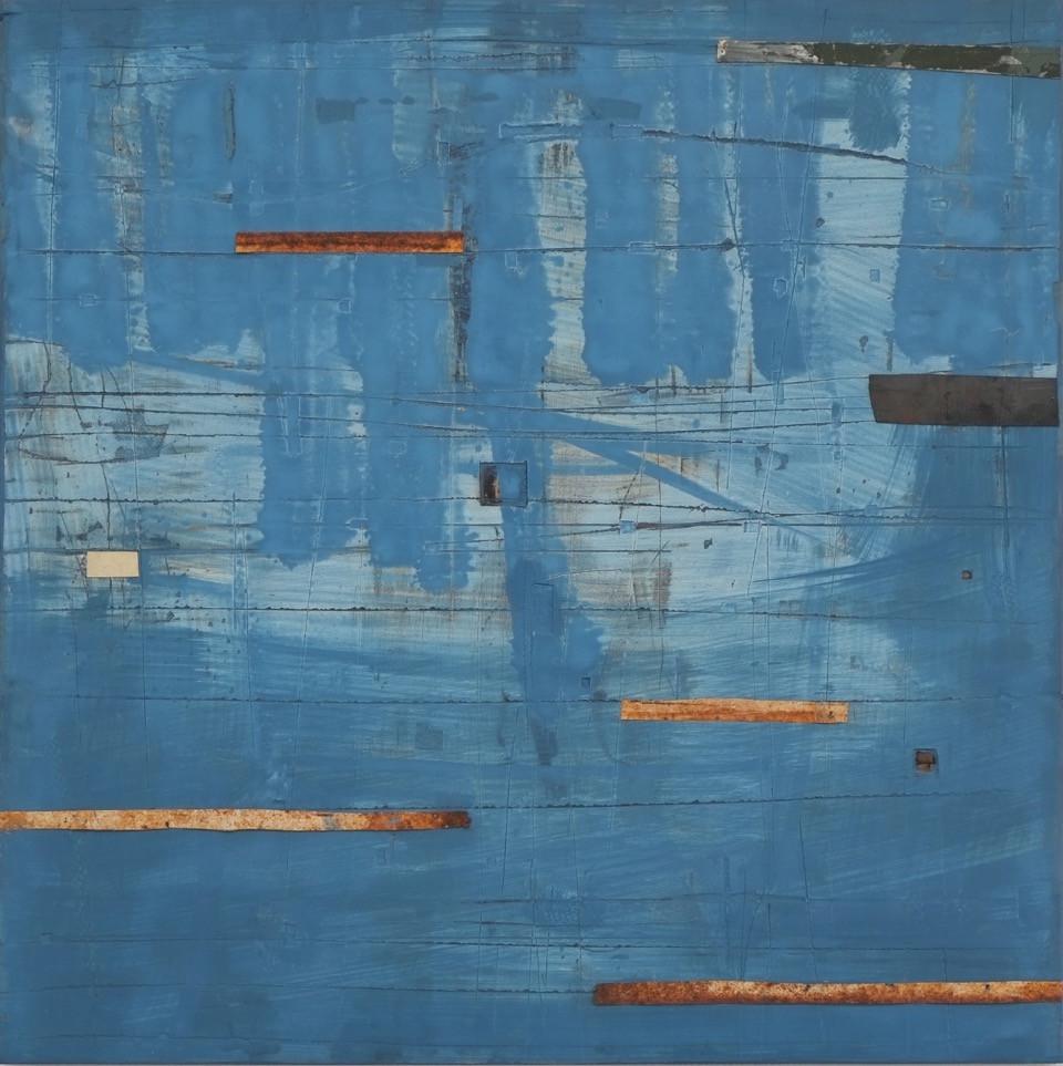 Marc lambrechts artist blue haze I 2015