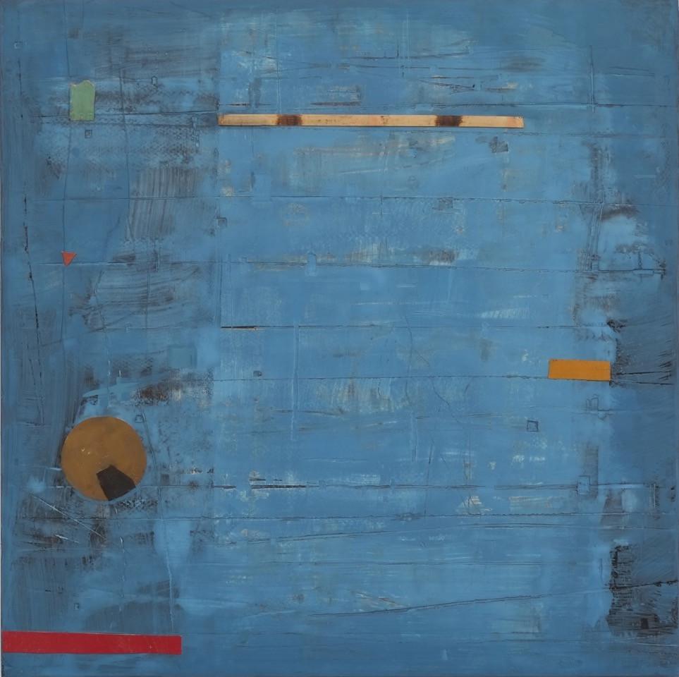 Marc lambrechts artist blue haze III 2015