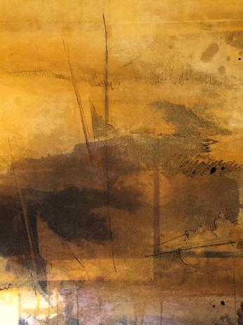 Seol Park, photogram painting, detail