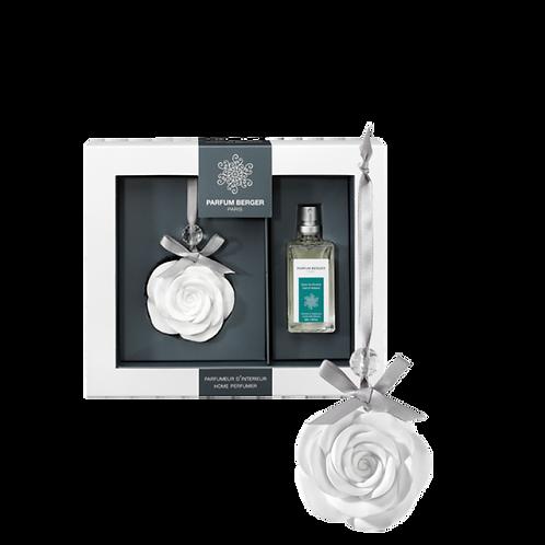 The rose pendant - Zest of Verbena