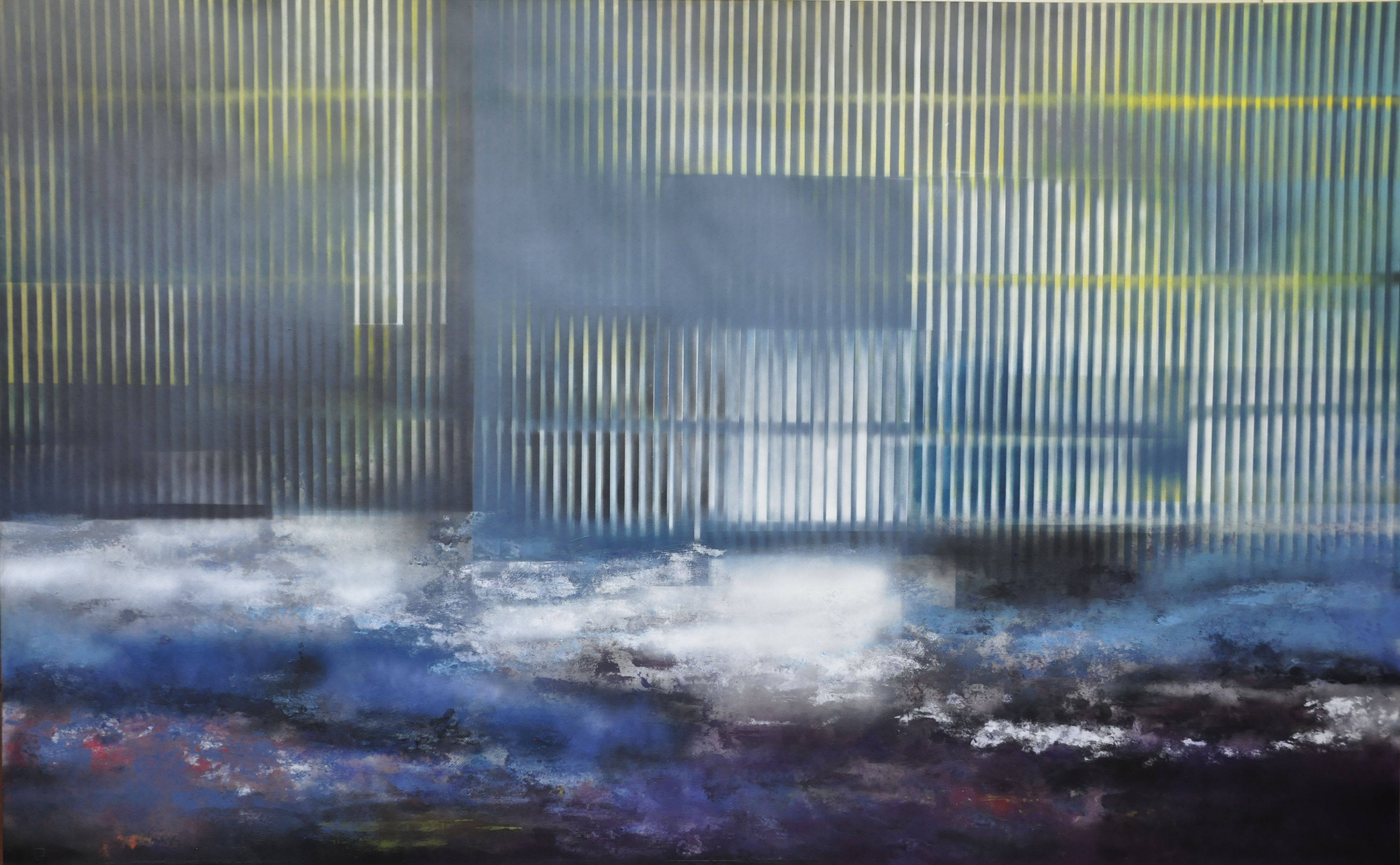 Acrylique sur isorel 16, 122x200, EricHu