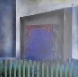 Acrylique sur CP  6 50x50 EricHubert 202