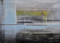 Acrylique sur isorel 7, 80x60, EricHuber