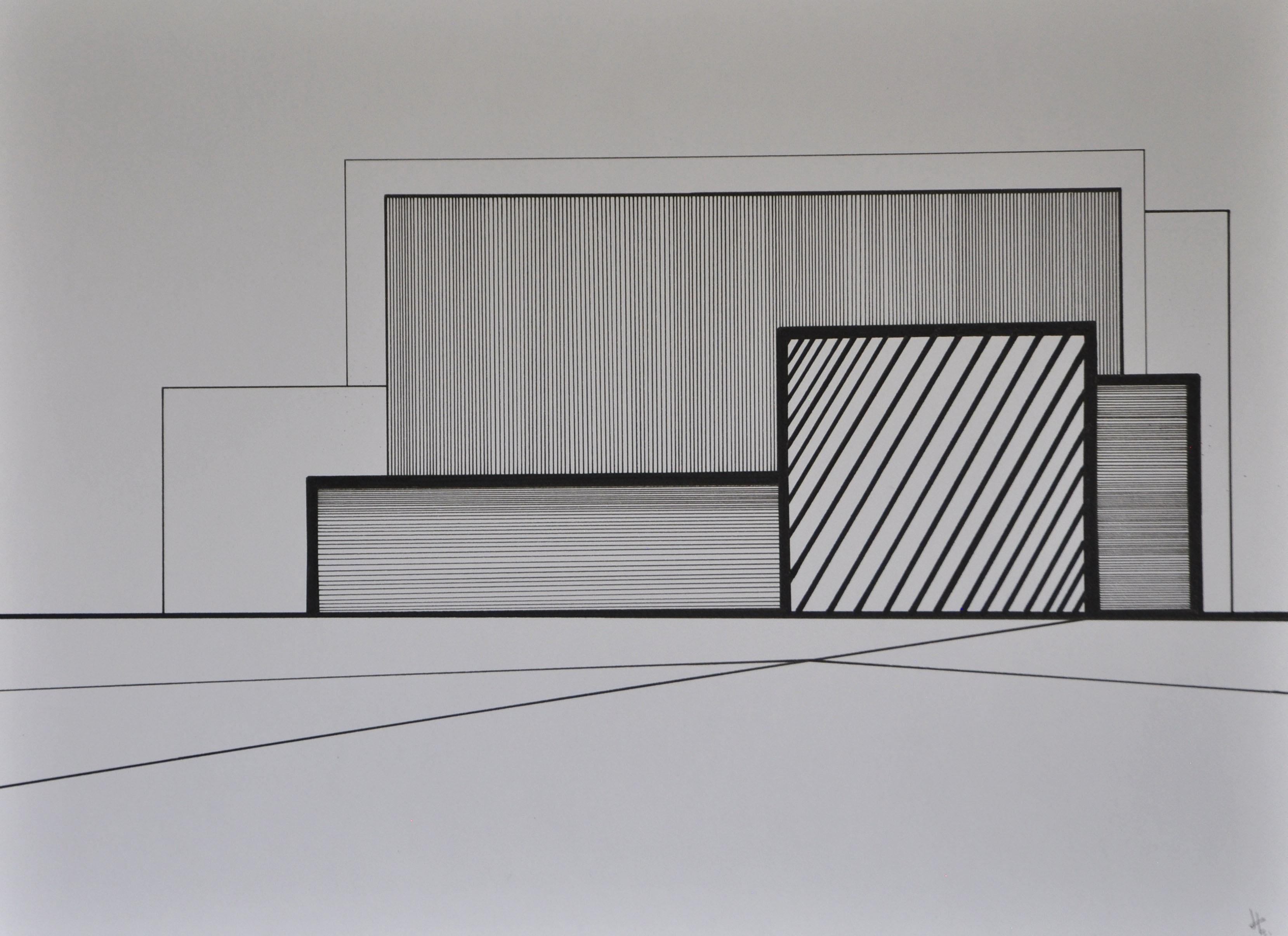 Encre et acrylique sur papier 37, 40x30,