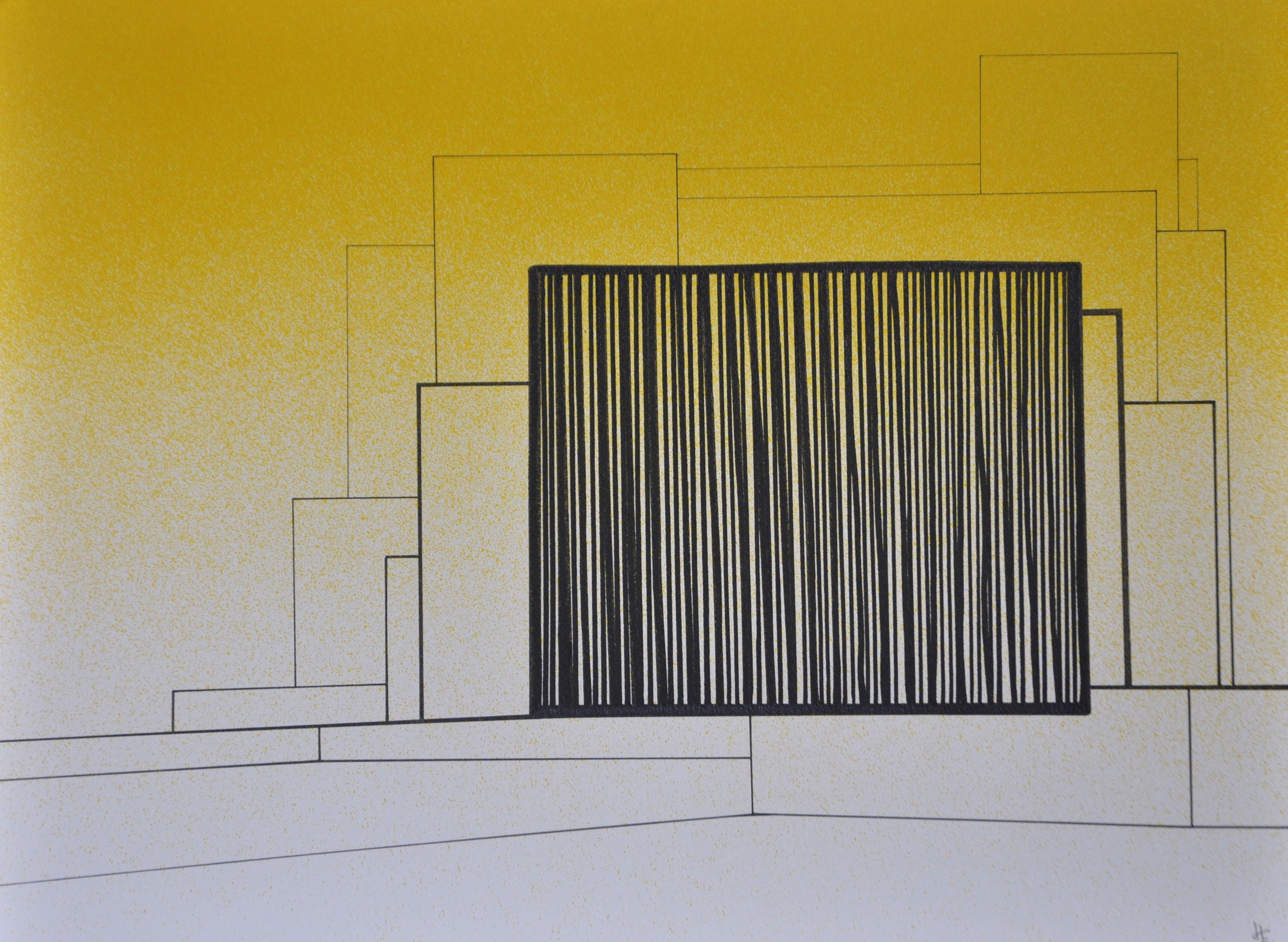 Encre sur papier 39, 40x30, EricHubert 2