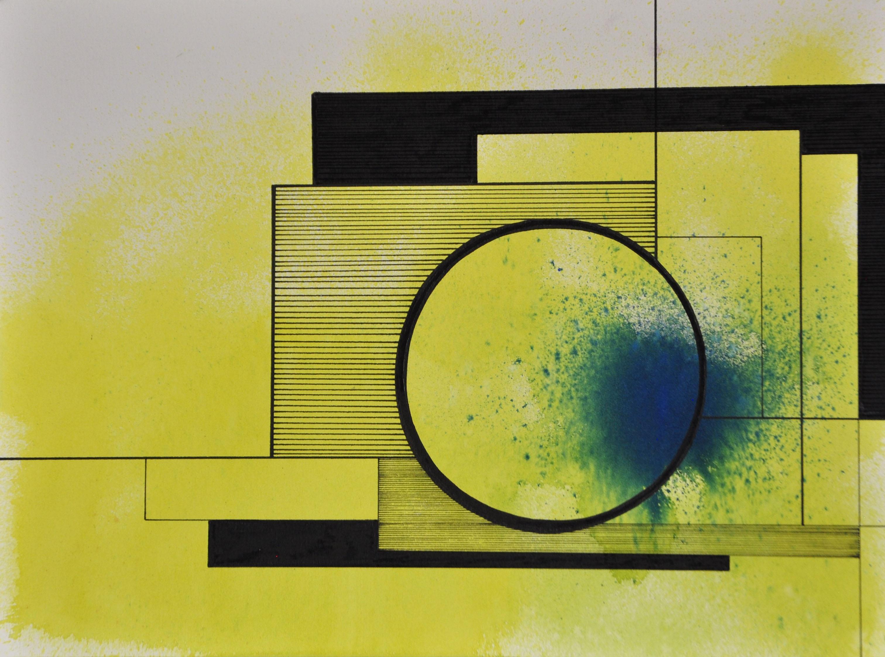 Encre et acrylique sur papier 21, 40x30,
