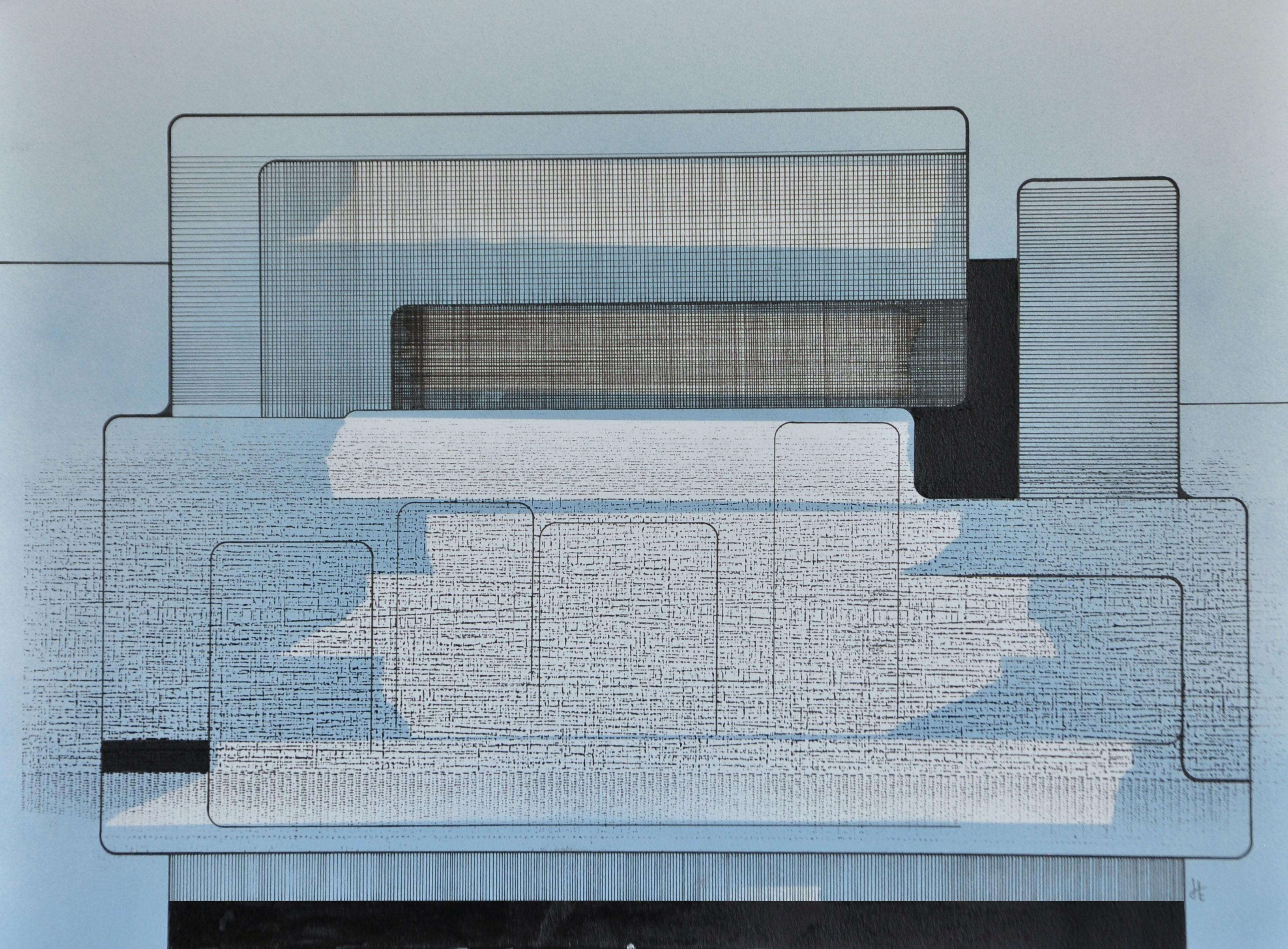 Encre et acrylique sur papier 51, 40x30,