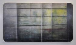 Acrylique sur isorel 3, 90x60, EricHuber