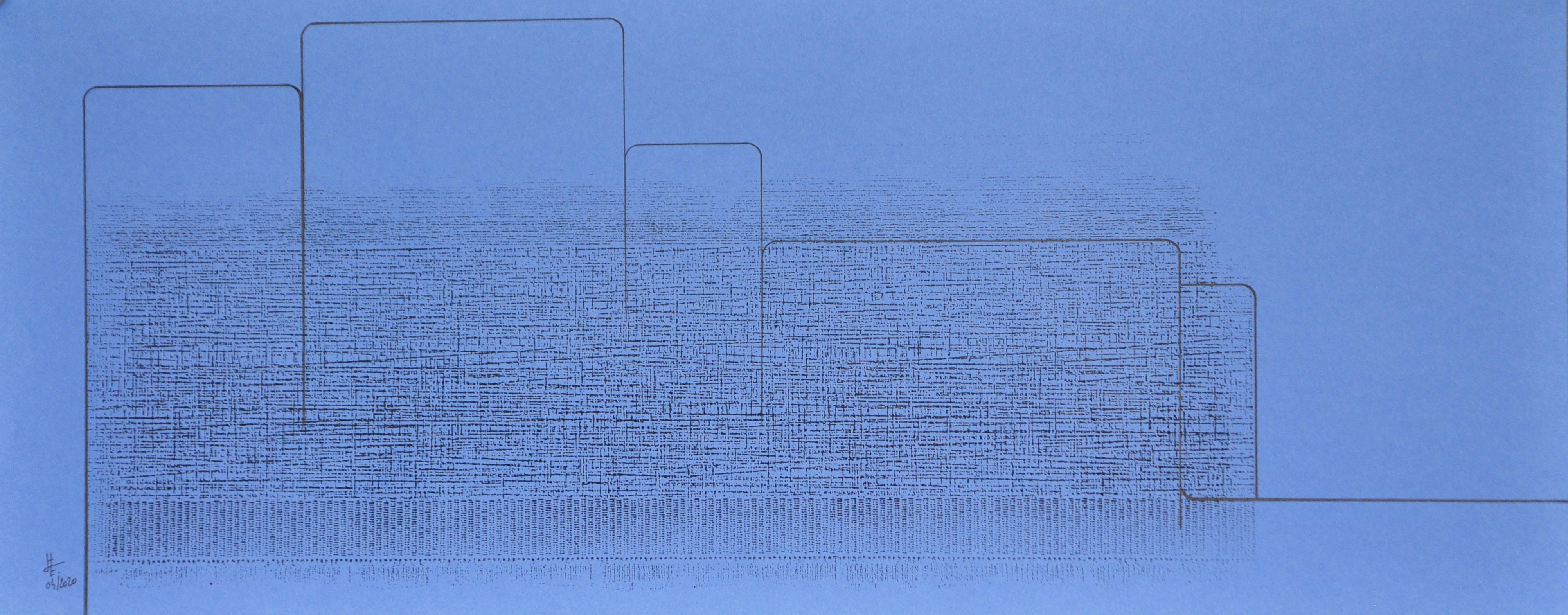 Encre et acrylique sur papier 50, 40x30,