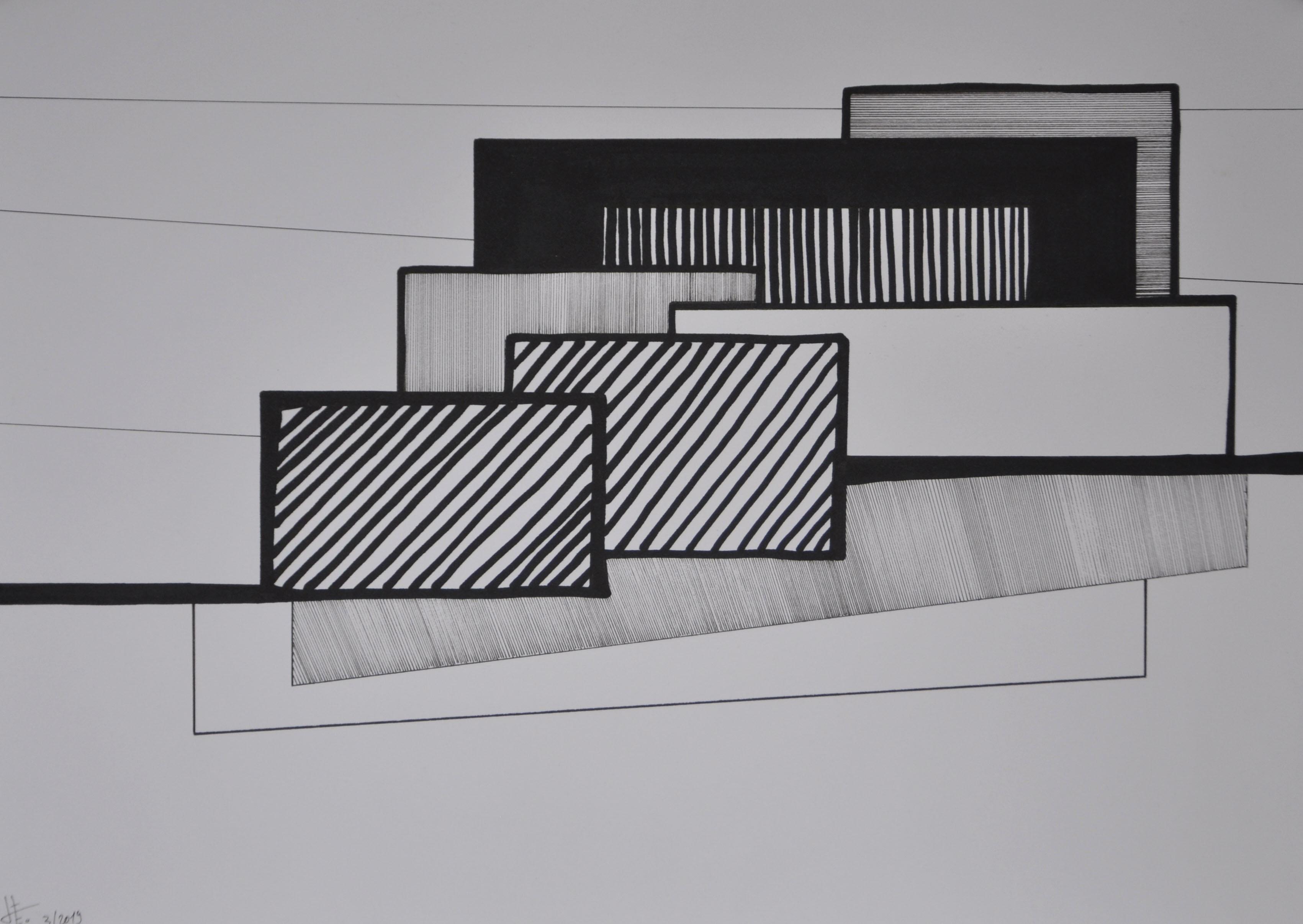 Encre sur papier 2, 30x40, EricHubert 20