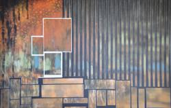 Acrylique sur CP n°29 150x100 EricHubert 2021