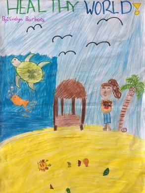 Evelyn Barbara Yr 5 Vaialia Beach School