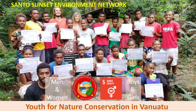 Youth for Nature Conservation in Vanuatu