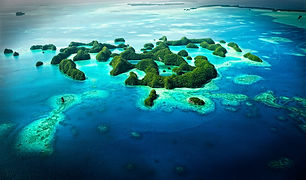 Rock Islands Palau Stuart Chape