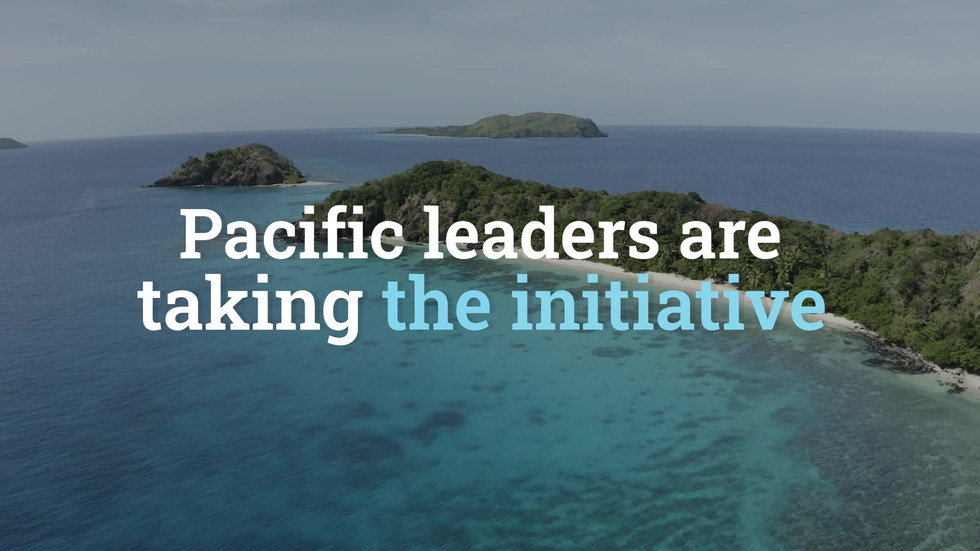 Pacific Support for Global Plastics Treaty