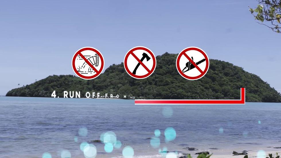 Aleipata Marine Protected Area at the island of Upolu in Samoa
