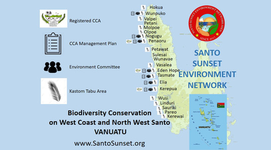 Biodiversity Conservation in West Coast and North West Santo, Vanuatu