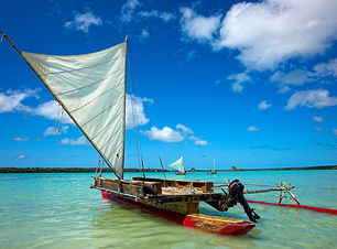 Traditional canoes New Caledonia