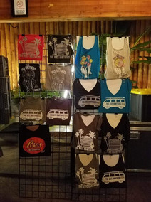 Ries Brothers Merch Booth