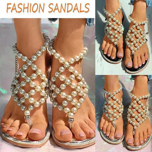 Polynesian Princess Pearl Sandals