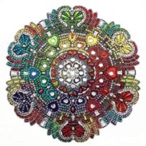Love Mandala Diamond Painting Kit