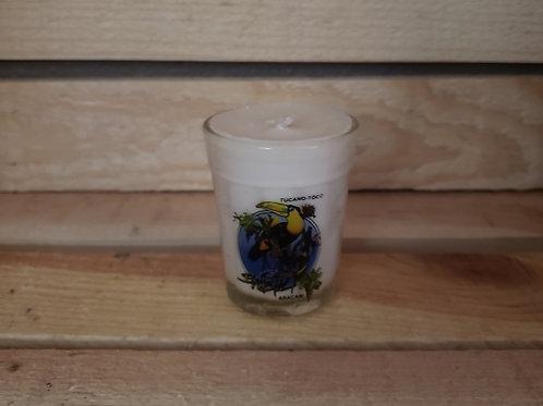 Brazilian Toucan Shot Glass Votive