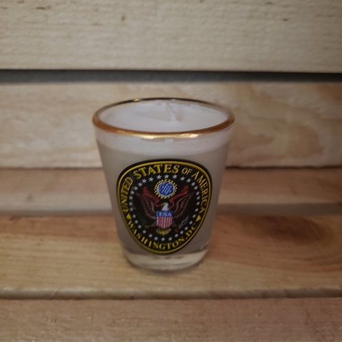 Presidential Shot Glass Votive