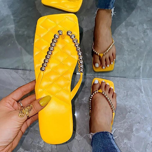 Quilted Sunshine Sandals