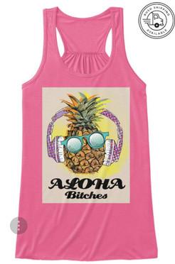 aloha bitches tank