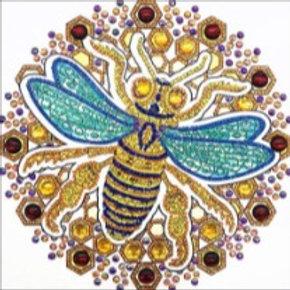 Bee-utiful Mandala Diamond Painting Kit