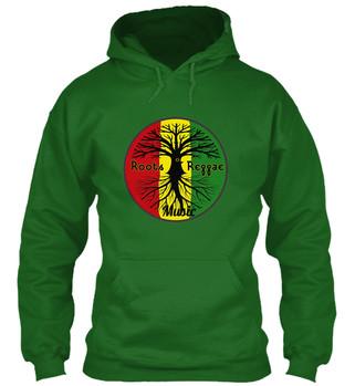 roots reggae music hoodie