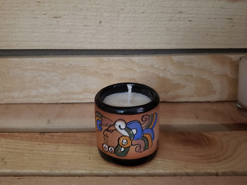 Native Clay El Salvador Shot Glass Votive