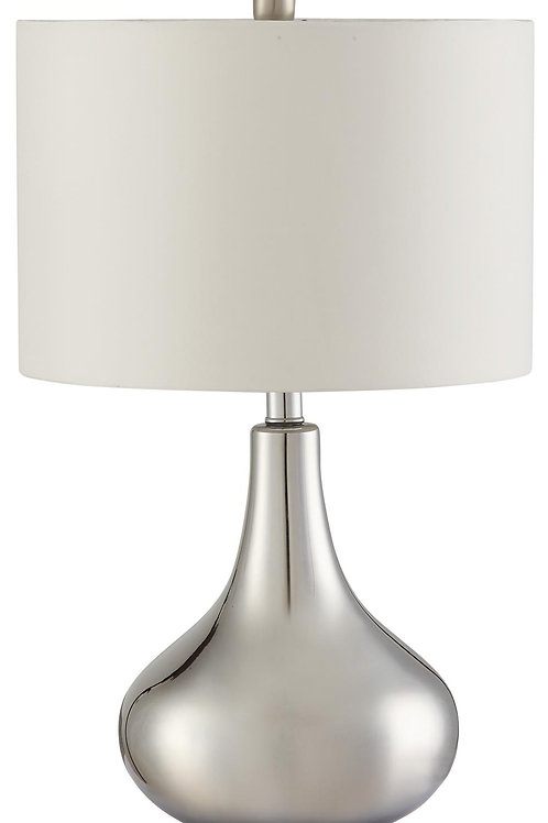Table Lamps Teardrop Shape Table Lamp in Chrome Finish