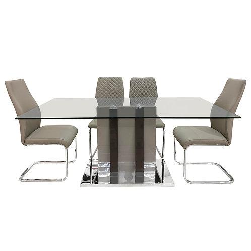 Champagna Dark Table