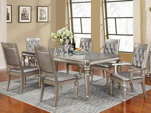 #007 DANETTE DINING TABLE SET WITH LEAFT 7PCS