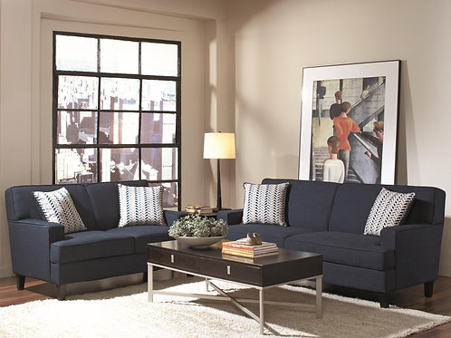 Finley Transitional Styled Sofa with Track Arms