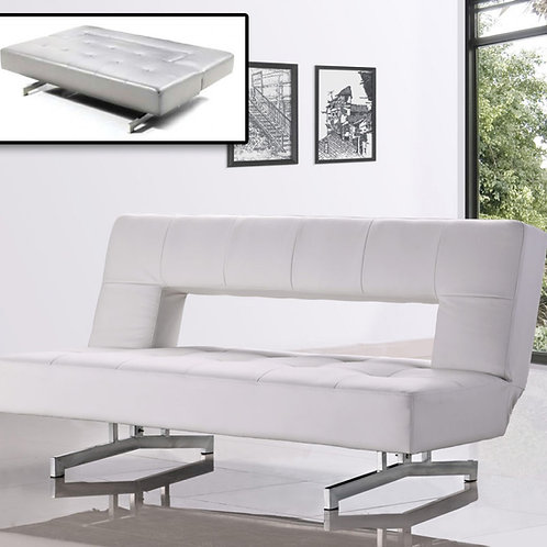 #006 WILSHIRE - MODERN SHARE LEATHERETTE SOFA BED