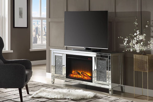 #025 NORALIE TV STAND & FIREPLACE