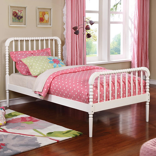 #002 JONES TWIN BED WHITE