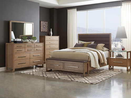 #036 SMITHSON COLLECTION BEDROOM SET - 4pcs